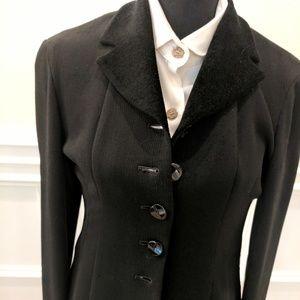 Donna Karan Crepe Jacket